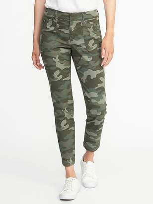 Old Navy Mid-Rise Utility Pixie Ankle Chinos for Women