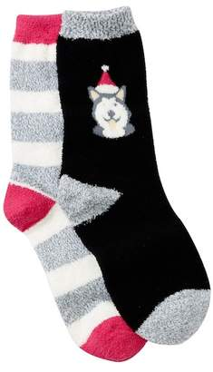 Free Press Chamois Crew Socks - Pack of 2