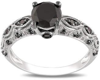 Black Diamond MODERN BRIDE Midnight 1 1/4 CT. T.W. Ring