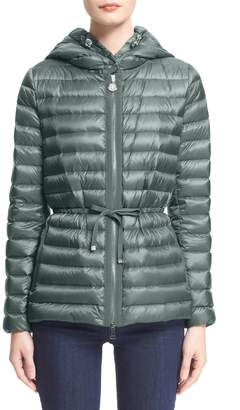 Moncler 'Raie' Water Resistant Hooded Down Jacket