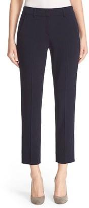 Women's Armani Collezioni Slim Crop Stretch Wool Pants $595 thestylecure.com