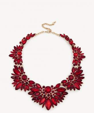 Sole Society Floral Cluster Necklace