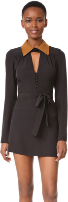 McQ - Alexander McQueen Collar Dress $495 thestylecure.com