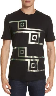 Versace Iridescent Graphic T-Shirt