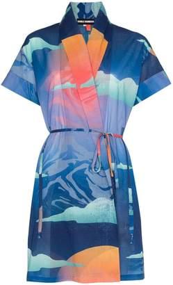 Double Rainbouu Wet Dream Kimono