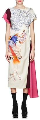 Dries Van Noten Women's Satin & Crepe Dress