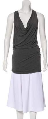 Donna Karan Cowl Sleeveless Dress
