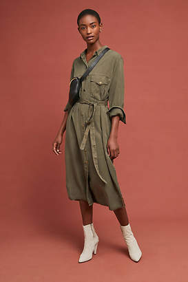 Sanctuary Belted Utility Shirtdress