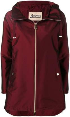 Herno Bordeau rain coat