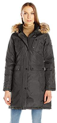 Madden Girl Women's Multi Pocket Insulated Coat $26.06 thestylecure.com