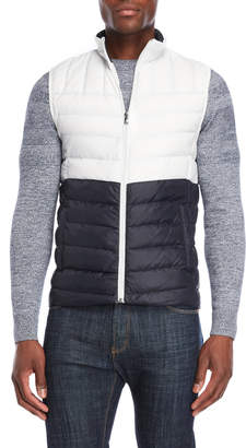 Michael Kors Two-Tone Puffer Vest