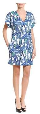 Etro Women's Blue Polyester Dress.