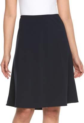 Briggs Petite Comfort Waist A-Line Skirt