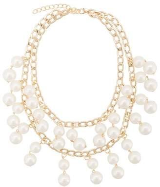 Edward Achour Paris pearl chain necklace