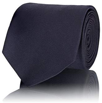 Prada Men's Silk Micro-Faille Necktie