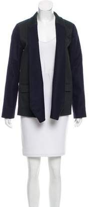 Roseanna Colorblock Wool Blazer