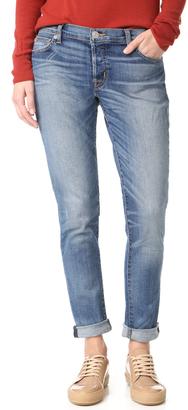 Hudson Riley Easy Slim Boyfriend Jeans $225 thestylecure.com
