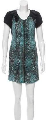 Vena Cava Silk Digital Print Dress