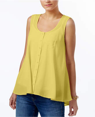Style&Co. Style & Co Swing Sleeveless Blouse, Created for Macy's
