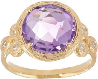 ADI Paz Round Gemstone & Diamond Ring, 14K Gold