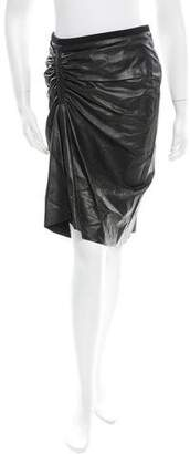 Reed Krakoff Leather Skirt w/ Tags