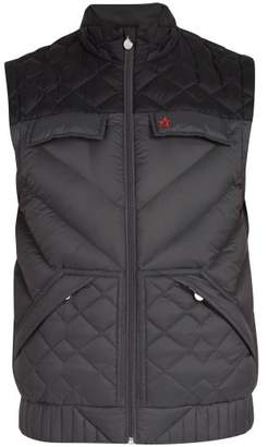 Perfect Moment - Apres Quilted Down Filled Gilet - Mens - Black