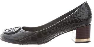 Tory Burch Embossed Amy Pumps