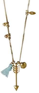 Pilgrim Lianne Czech Crystal Charm Necklace