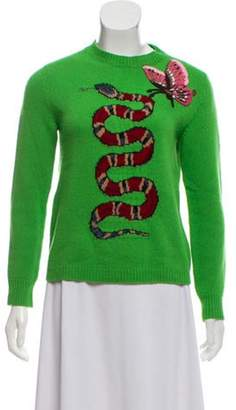 Gucci 2016 Wool Sweater Green 2016 Wool Sweater