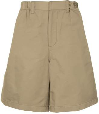 Undercover wide chino shorts