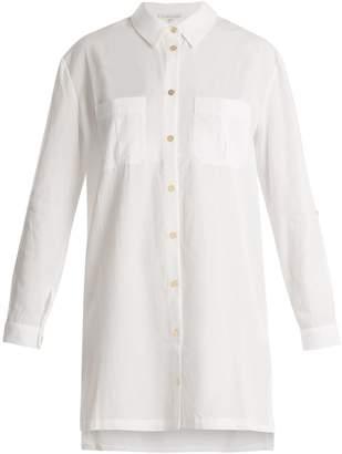 Heidi Klein Maine point-collar poplin shirtdress