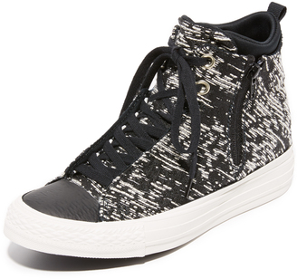 Converse Chuck Taylor All Star Selene High Top Sneakers $100 thestylecure.com