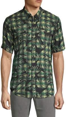 Ezekiel Pensacola Short Sleeve Plaid Shirt