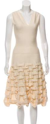 Maison Rabih Kayrouz Sleeveless Ruched Dress w/ Tags