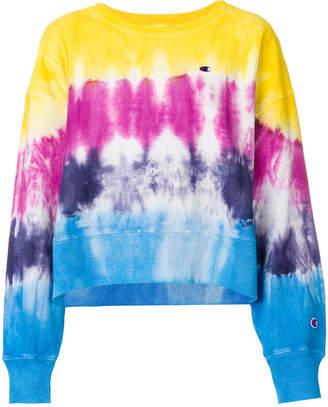 Champion tie-dye boxy sweatshirt