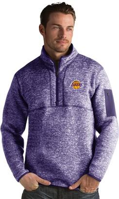 Antigua Men's Los Angeles Lakers Fortune Pullover