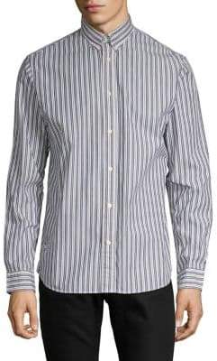 Selected Carlo Striped Regular-Fit Button-Down Shirt