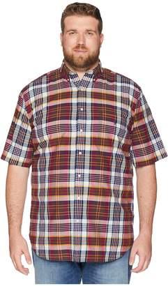 Polo Ralph Lauren Big Tall Madras Plaid Short Sleeve Sport Shirt Men's Clothing