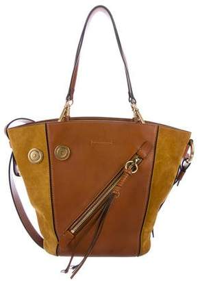 Chloé Medium Myer Leather & Suede Tote