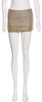 Pierre Balmain Embellished Mini Skirt