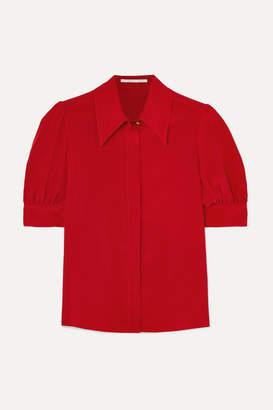 Stella McCartney Silk-chiffon Blouse - Red