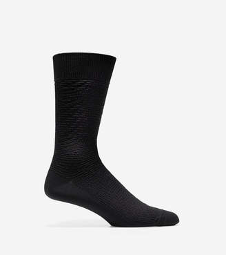 Cole Haan Distorted Texture Crew Socks