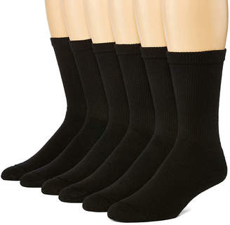 Hanes Men's 6-pk ComfortBlend Full Cushion Crew Socks