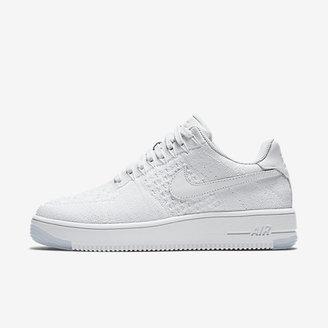 Nike Air Force 1 Flyknit Low Women's Shoe $160 thestylecure.com