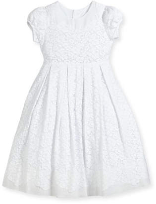 Isabel Garreton Gala Organdy Lace Dress, Size 7-10