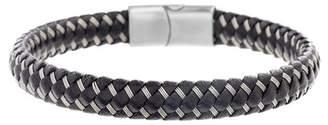Ben Sherman Wired Faux Leather Bracelet