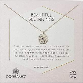 Dogeared Womens Beautiful Beginnings Chain Necklace