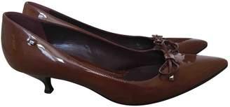 Sportmax Brown Patent leather Heels
