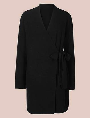 Marks and Spencer Pure Cashmere Textured Wrap Dressing Gown