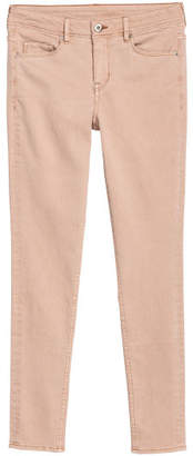 H&M Super Skinny Regular Jeans - Beige